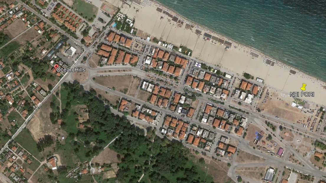 Ocean Hills Vila Grcka Olimpska Regija Nei Pori Letovanje Olimpturs Lokacija