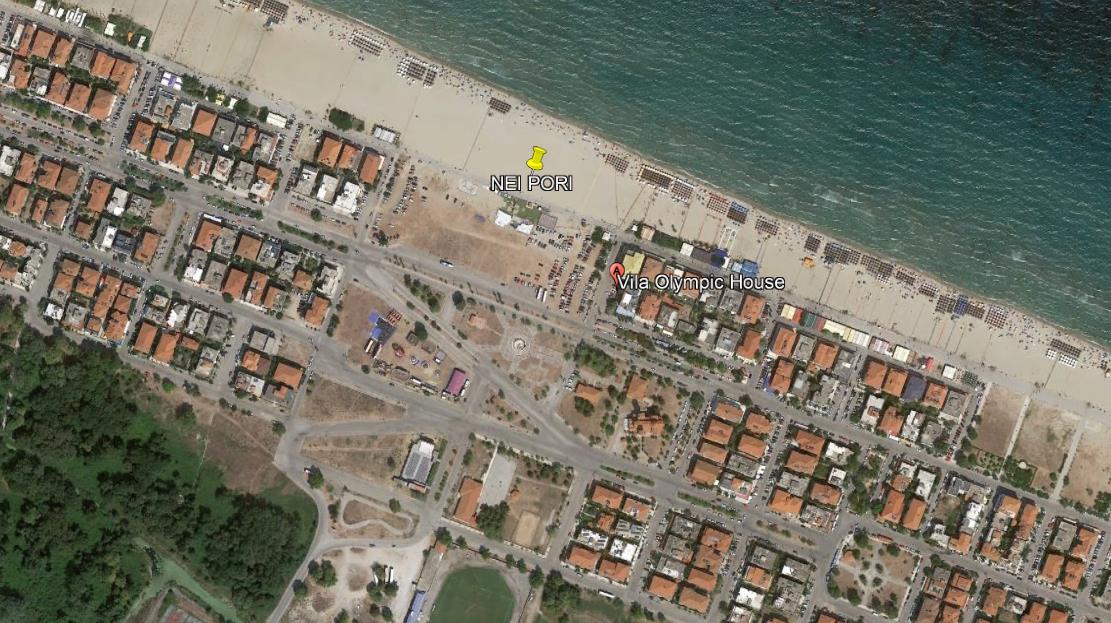 Olympic Apartments Grcka Olimpska Regija Nei Pori Letovanje Olimpturs Lokacija
