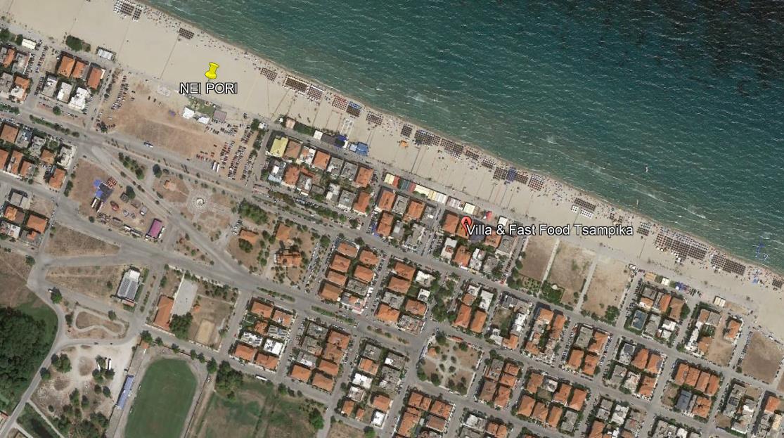 Tsambika Grcka Olimpska Regija Nei Pori Letovanje Olimpturs Lokacija