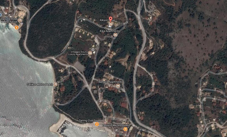 Alkyion Luxury Resort Grcka Jonska Regija Sivota Letovanje Olimpturs Lokacija
