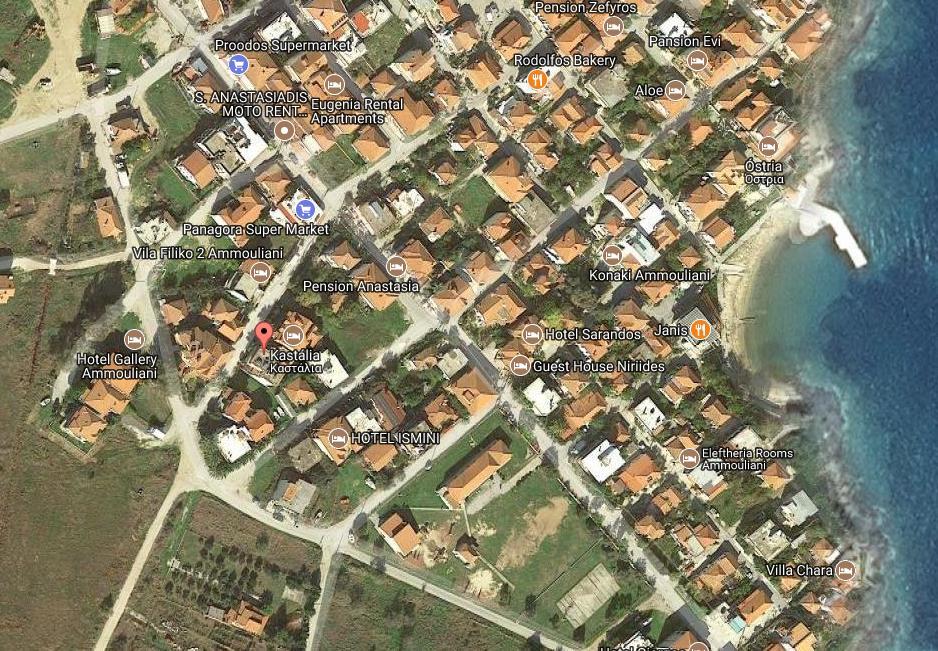 App Hotel Filiko Grcka Grcka Ostrva Amuljani Letovanje Olimpturs Lokacija