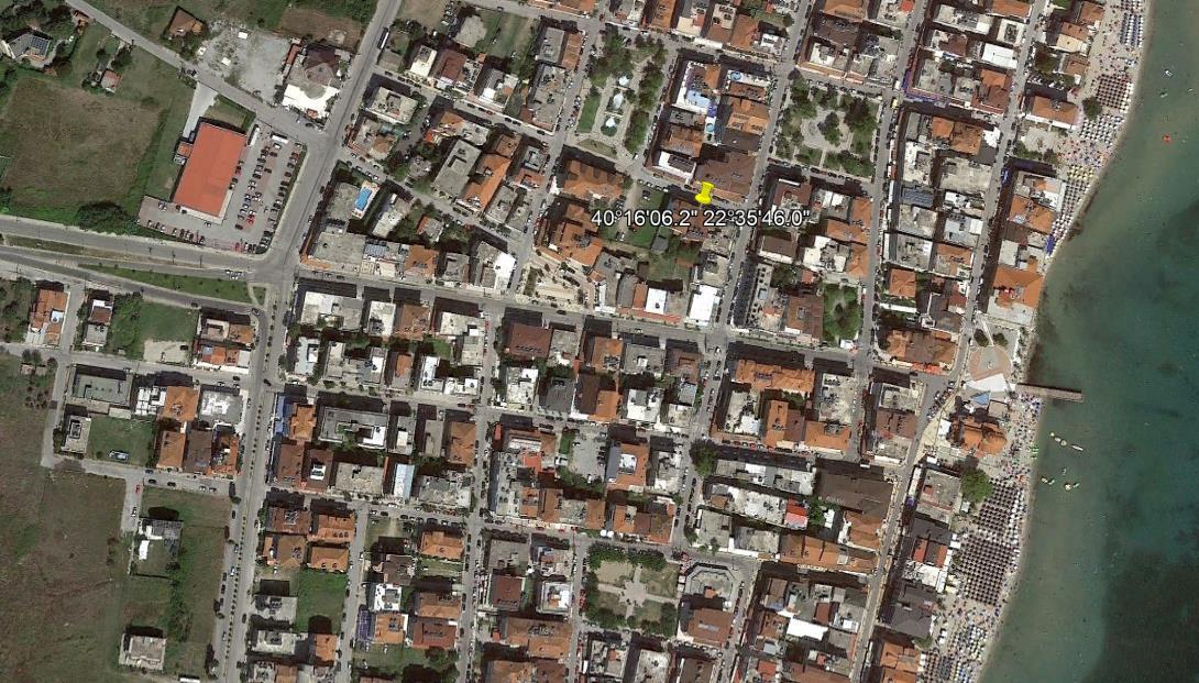 App Hotel Hellas Grcka Olimpska Regija Paralia Letovanje Olimpturs Lokacija