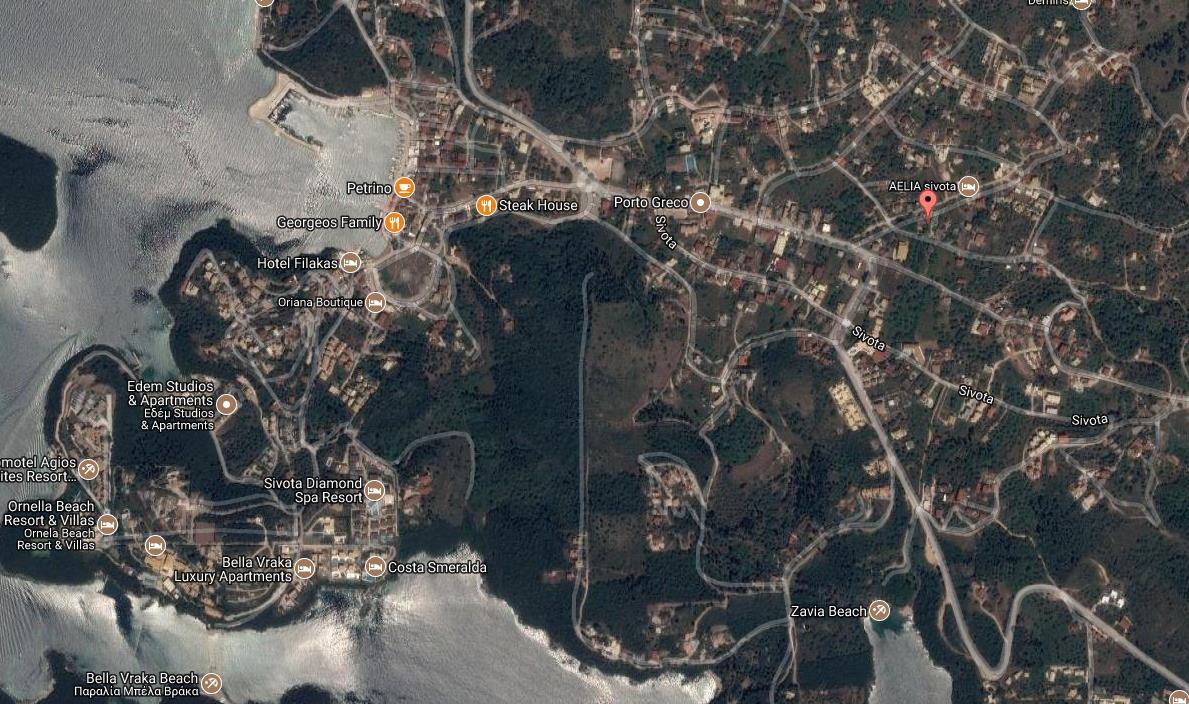 Areti Grcka Jonska Regija Sivota Letovanje Olimpturs Lokacija
