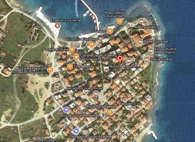 Filipos Grcka Grcka Ostrva Amuljani Letovanje Olimpturs Lokacija