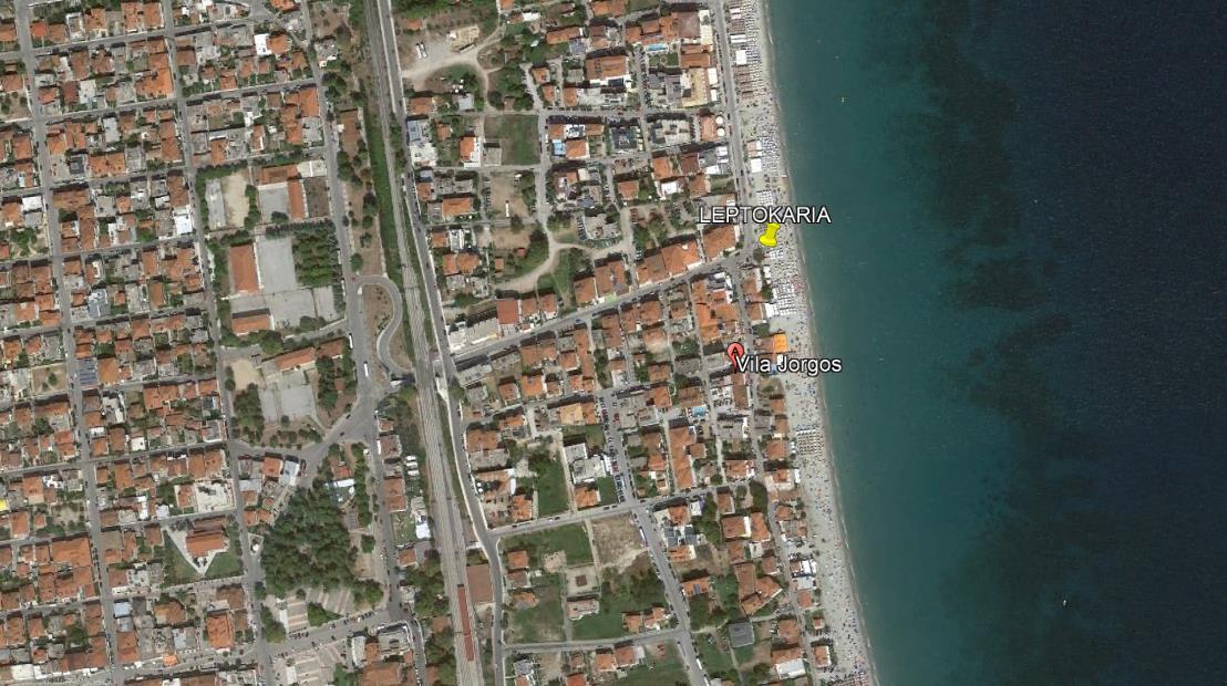 Jorgos Grcka Olimpska Regija Leptokarija Letovanje Olimpturs Lokacija