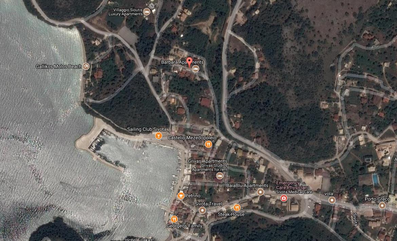 Kimon Grcka Jonska Regija Sivota Letovanje Olimpturs Lokacija