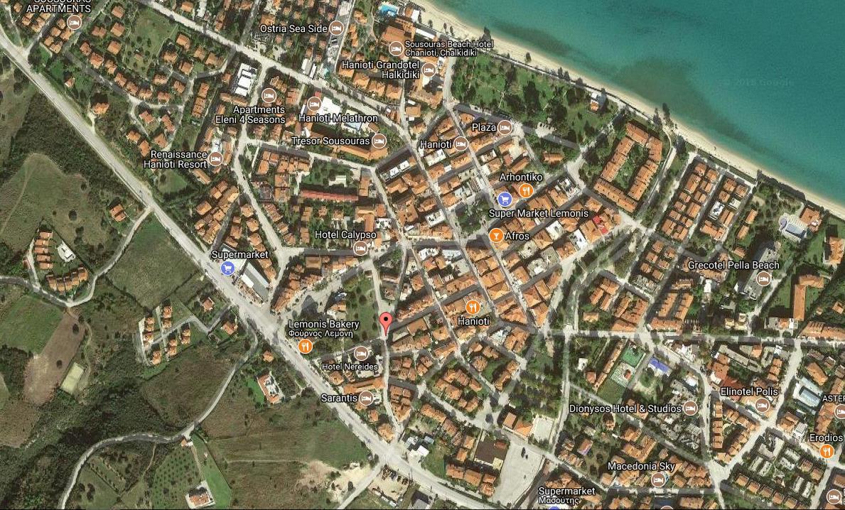 Panorama Grcka Halkidiki Kasandra Hanioti Olimpturs Lokacija