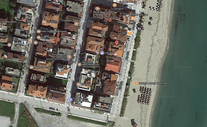 Penelopi Grcka Olimpska Regija Olympic Beach Letovanje Olimpturs Lokacija
