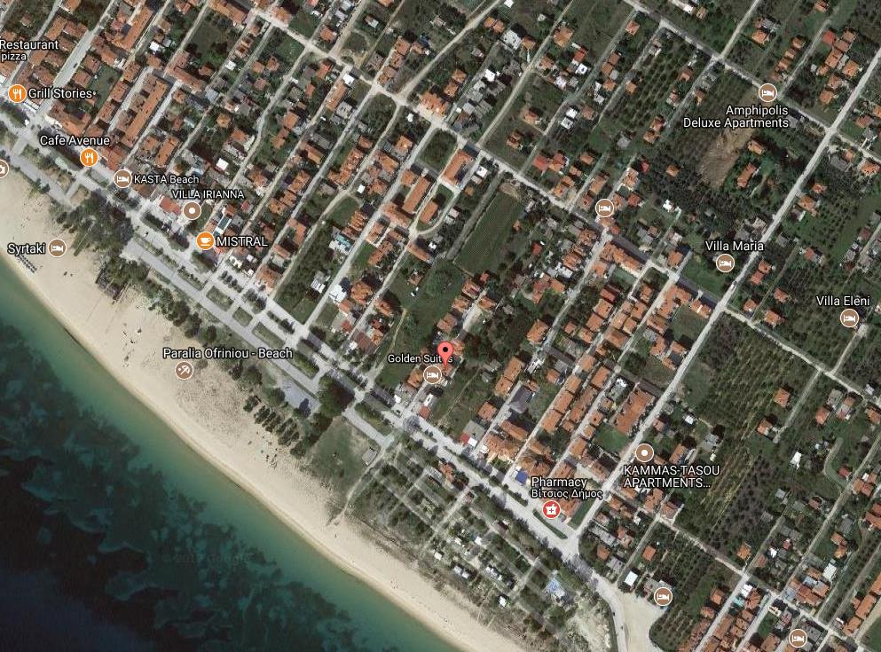 Sofia House Grcka Regija Sv Djordja Ofrynio Beach Letovanje Olimpturs Lokacija
