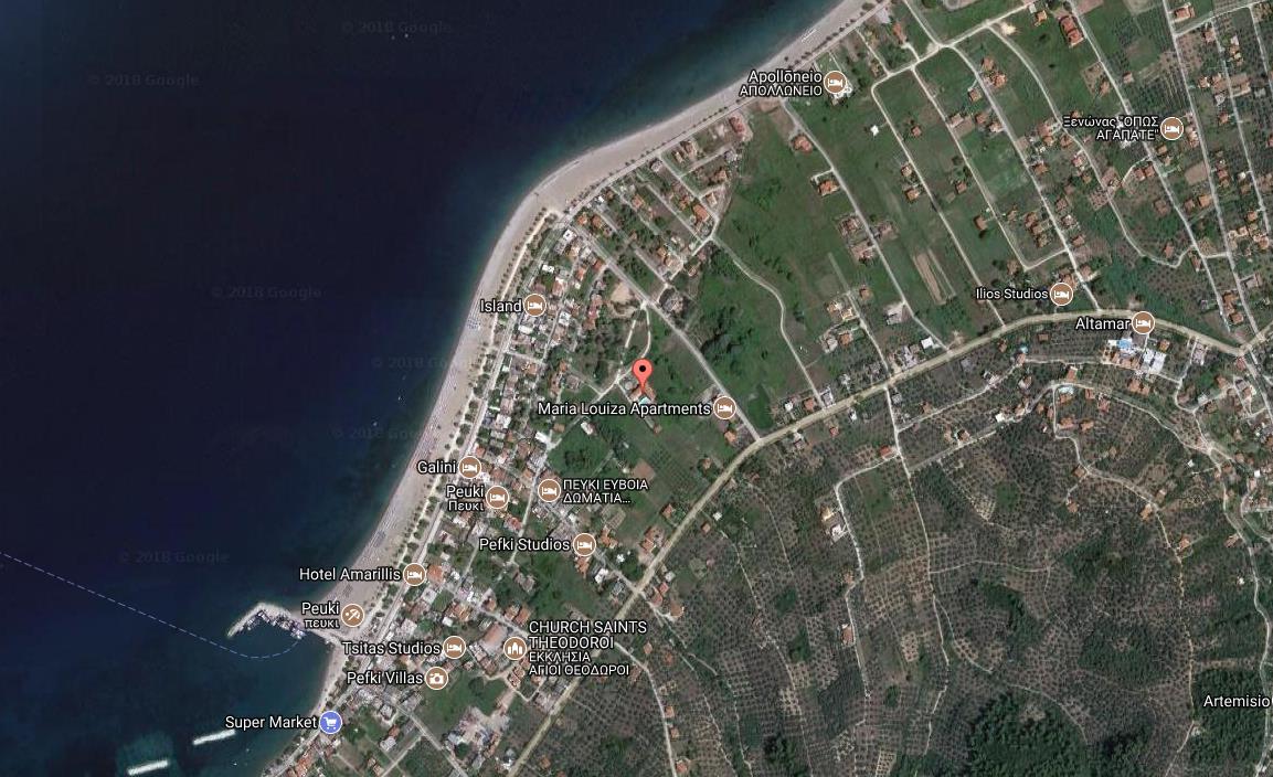 App Hotel Annas Luxury Grcka Evia Letovanje Olimpturs Lokacija