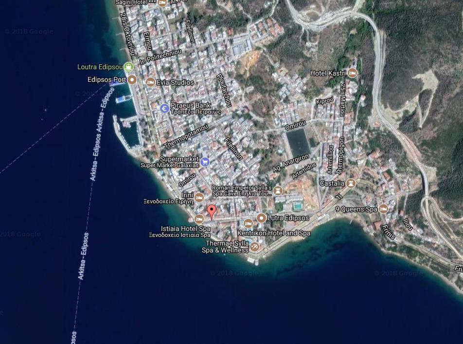 App Hotel Kiapeku Grcka Evia Letovanje Olimpturs Lokacija