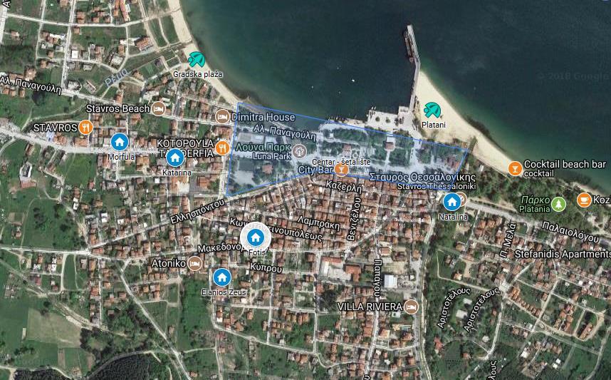 Fotis Stavros Regija Sv Djordja Grcka Letovanje Olimpturs Lokacija