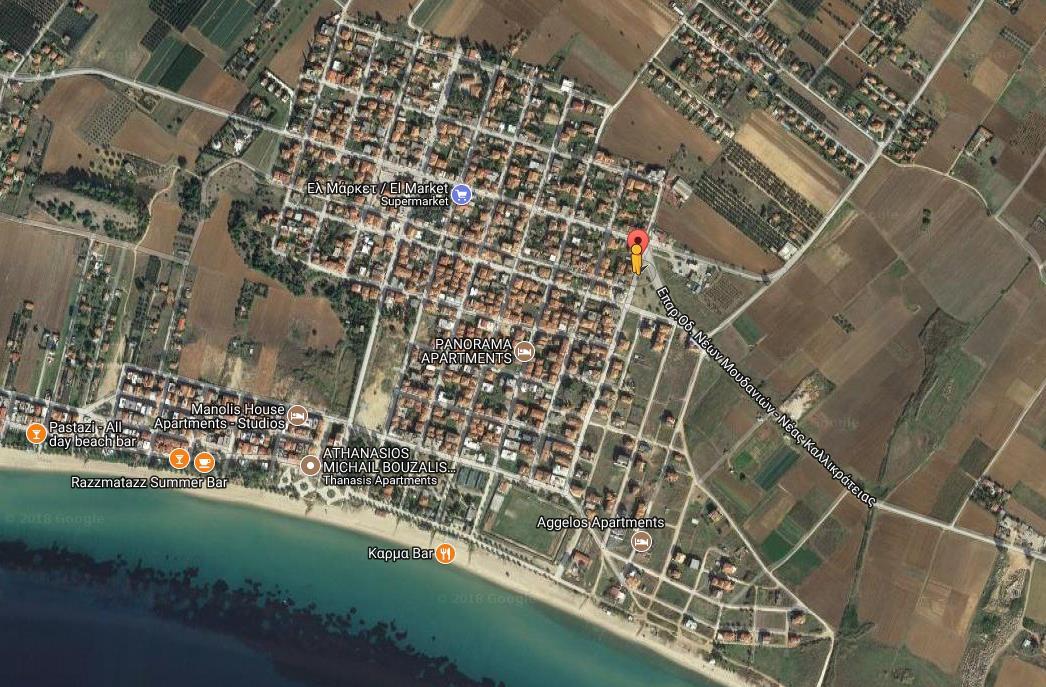 Kostas I Despina Grcka Halkidiki Kasandra Nea Flogita Olimpturs Lokacija