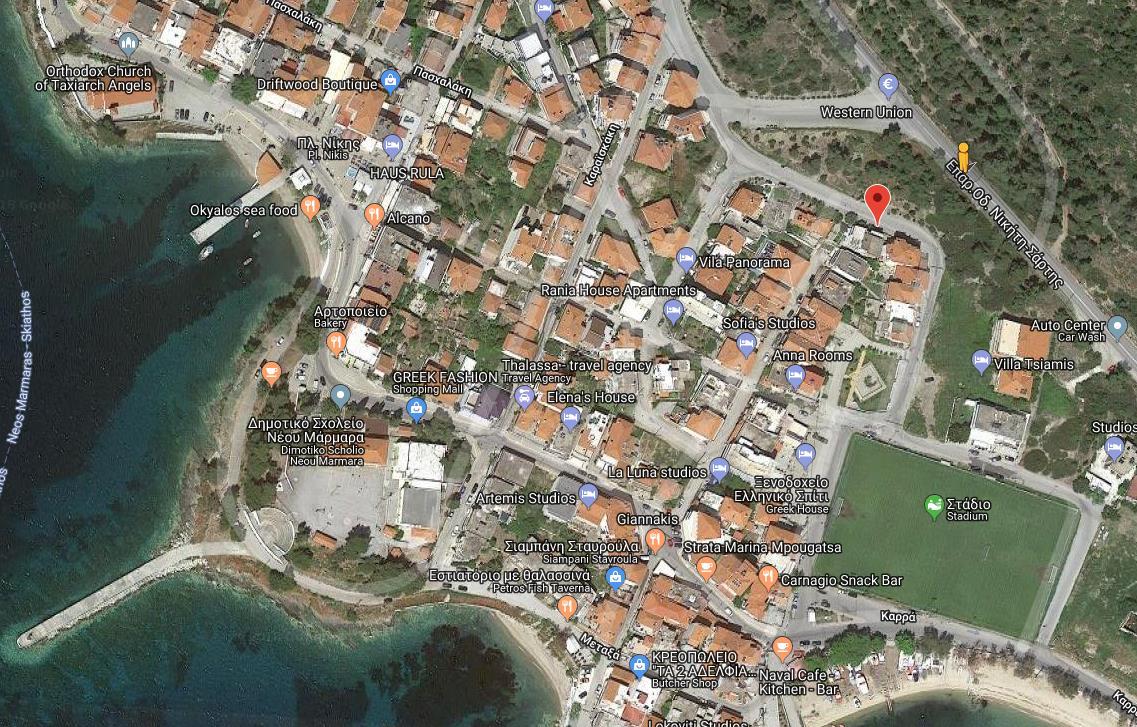 Sisi Grcka Sitonija Neos Marmaras Letovanje Olimpturs Lokacija