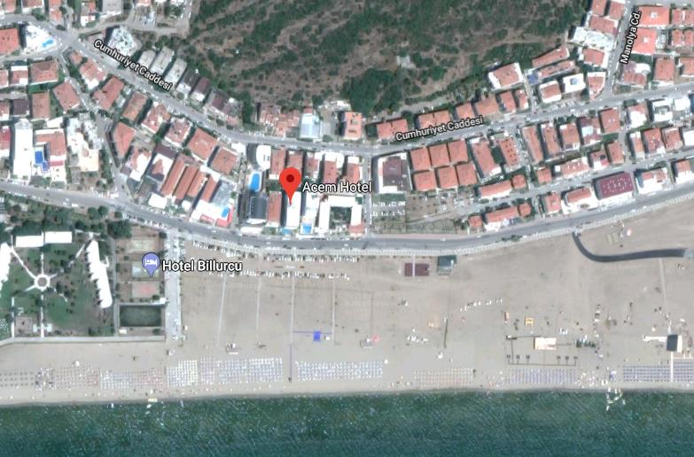 Hotel Acem Turska Sarimsakli Letovanje Olimpturs Lokacija