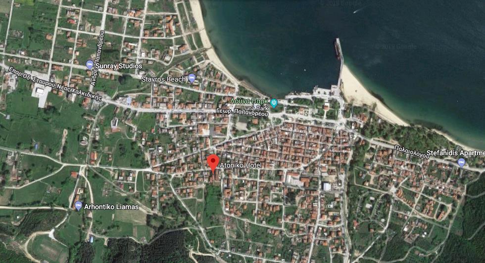 Atoniko Stavros Regija Sv Djordja Grcka Letovanje Olimpturs Lokacija