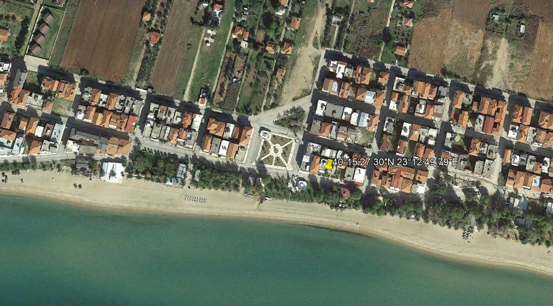 Flogita Beach Grcka Halkidiki Kasandra Nea Flogita Olimpturs Lokacija