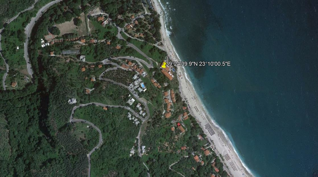 App Hotel Karaoulanis Pilion Grcka Letovanje Olimpturs Lokacija
