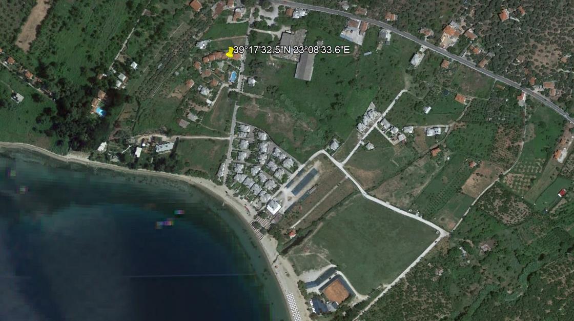 Hotel Saily Beach Milina Pilion Grcka Letovanje Olimpturs Lokacija