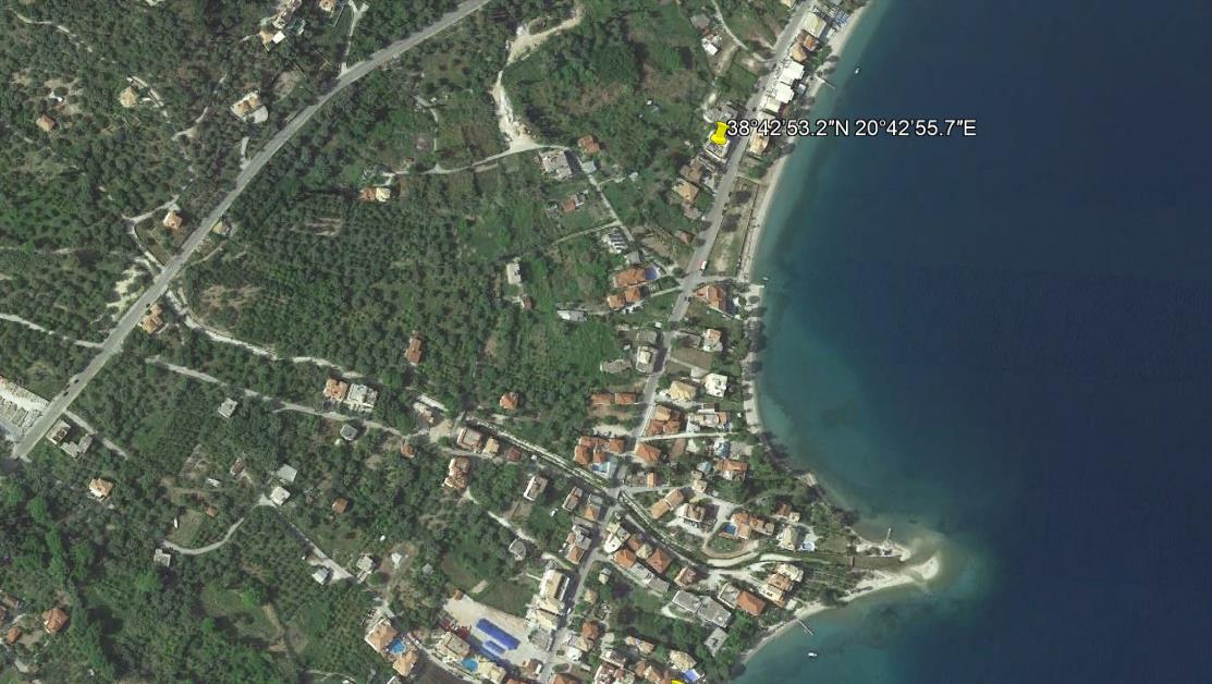 Jorgos Beach Grcka Lefkada Letovanje Olimpturs Lokacija