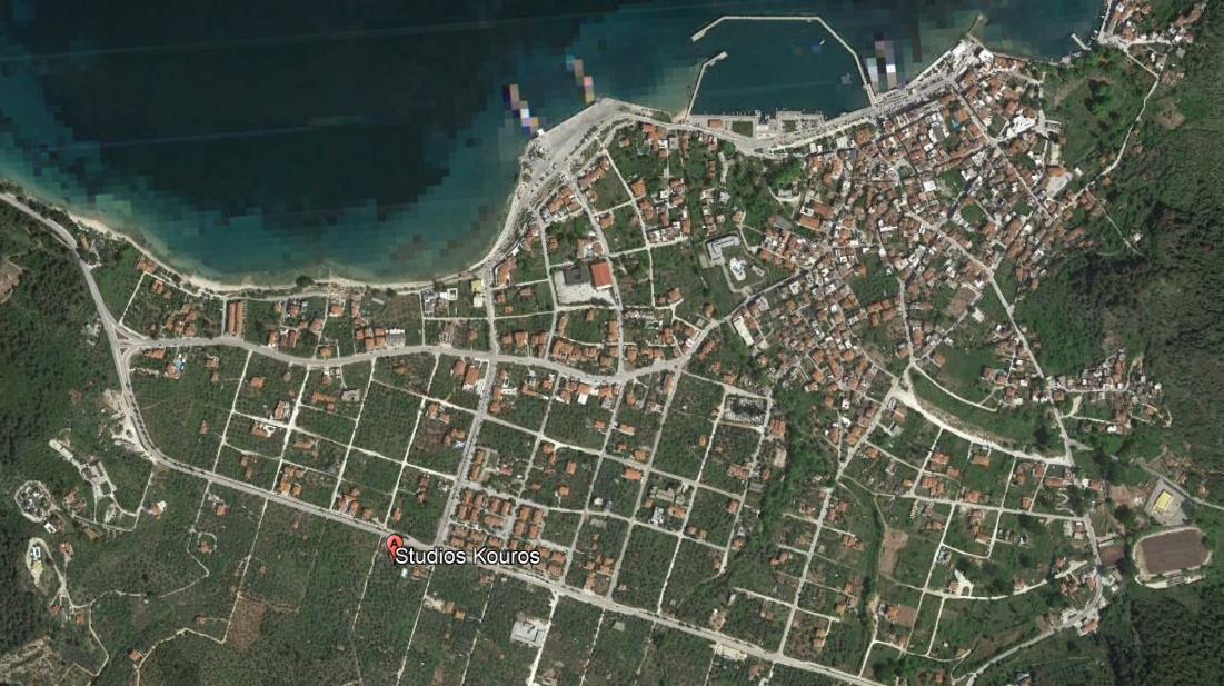 Kouros Tasos Grcka Letovanje Olimpturs Lokacija