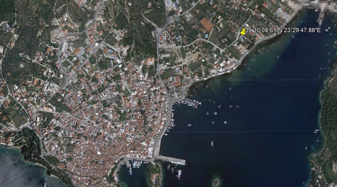 Pavlos Maria Grcka Skiatos Letovanje Olimpturs Lokacija