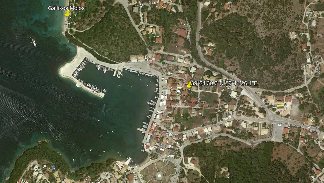 Porto Sivota Grcka Jonska Regija Sivota Letovanje Olimpturs Lokacija