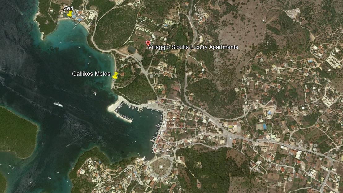 Villaggio Sioutis Grcka Jonska Regija Sivota Letovanje Olimpturs Lokacija