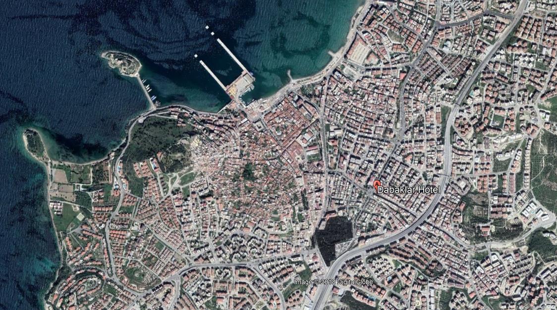 Hotel Dabaklar Turska Kusadasi Letovanje Olimpturs Lokacija