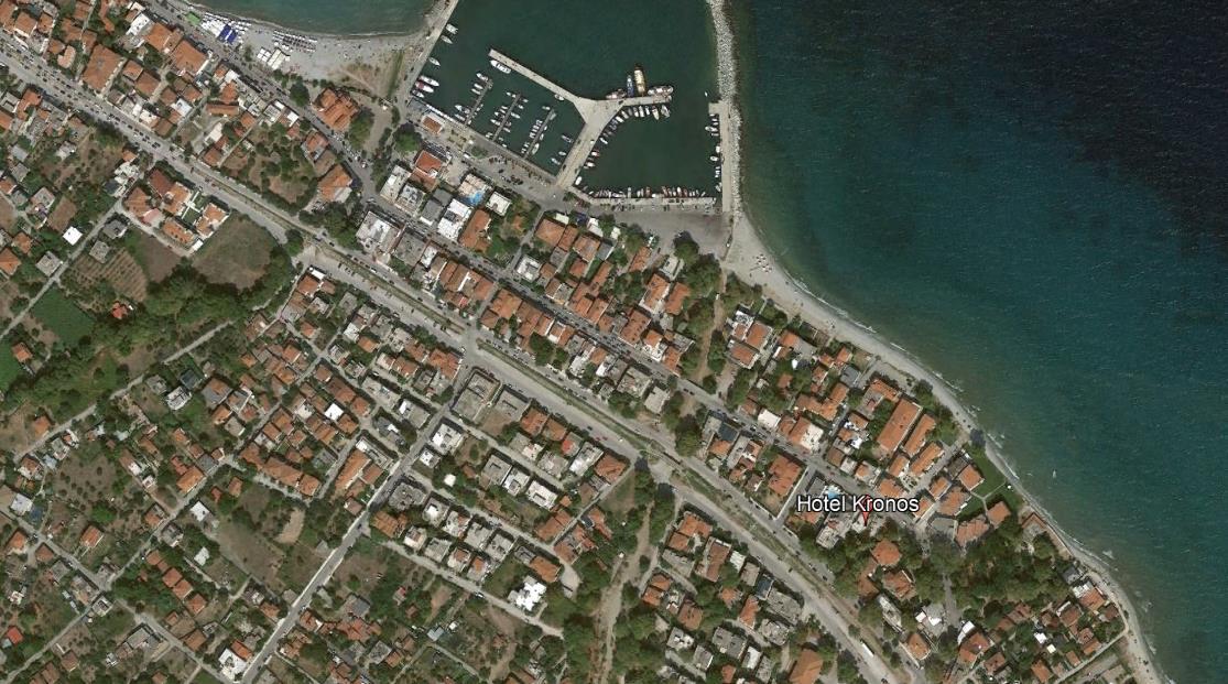 Hotel Kronos Grcka Olimpska Regija Platamon Letovanje Olimpturs Lokacija