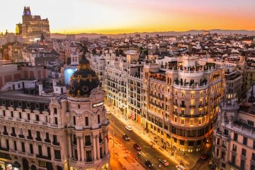 Madrid Spanija Metropole Olimpturs