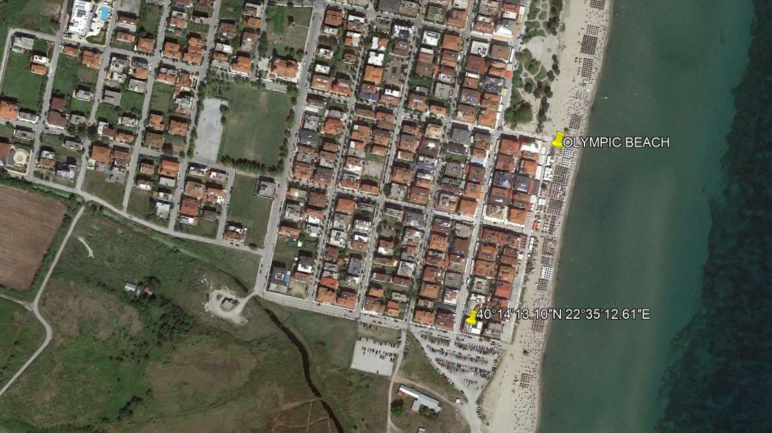 Apostolis Grcka Olimpska Regija Olympic Beach Letovanje Olimpturs Lokacija
