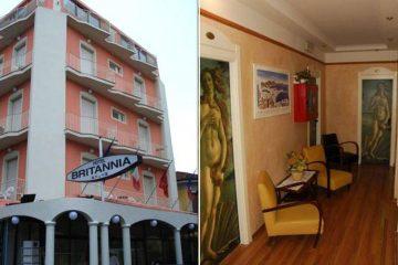 Hotel Britannia Italija Rimini Letovanje Olimpturs