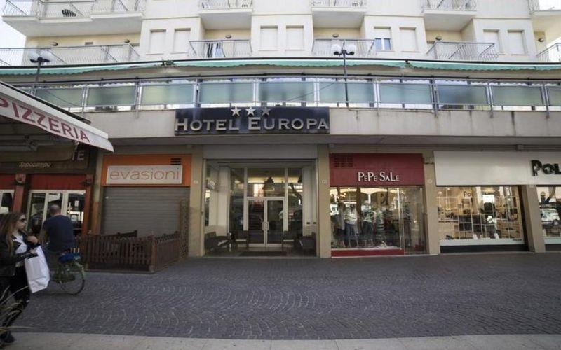Hotel Europa Italija Rimini Letovanje Olimpturs