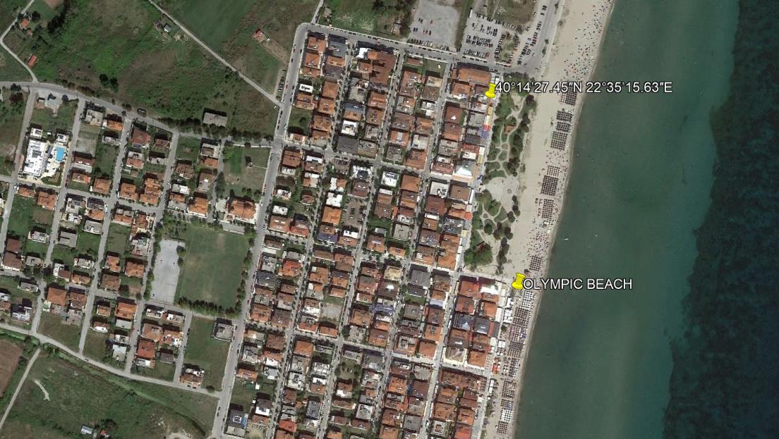 Olympic Beach Grcka Olimpska Regija Olympic Beach Letovanje Olimpturs Lokacija