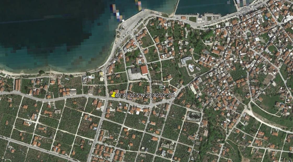 Evridiki Resort Tasos Grcka Letovanje Olimpturs Lokacija