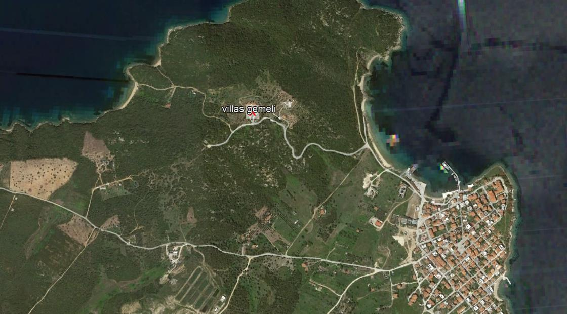 Gemeli Amuljani Grcka Letovanje Olimpturs Lokacija