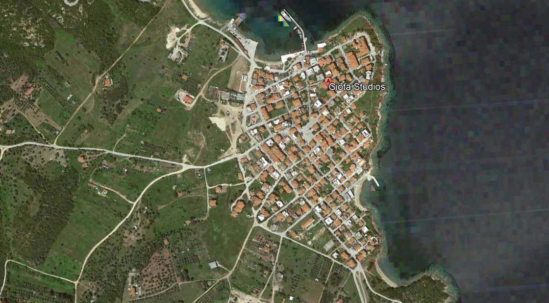 Giota Amuljani Grcka Letovanje Olimpturs Lokacija