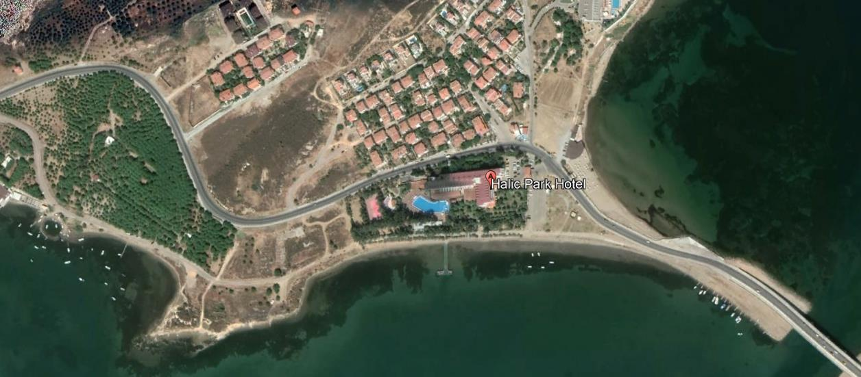Hotel Halic Park Ayvalik Turska Sarimsakli Letovanje Olimpturs Lokacija