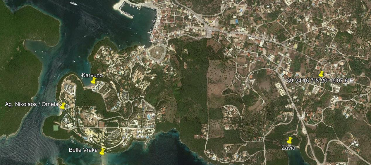 Nikolas Luxury Grcka Jonska Regija Sivota Letovanje Olimpturs Lokacija