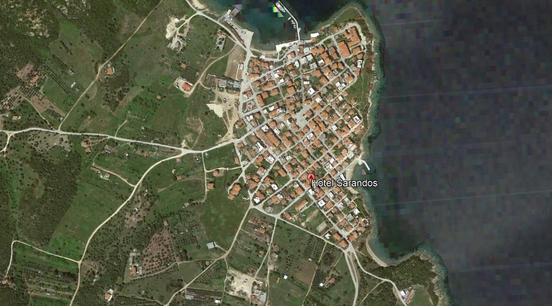 Sarandos Amuljani Grcka Letovanje Olimpturs Lokacija