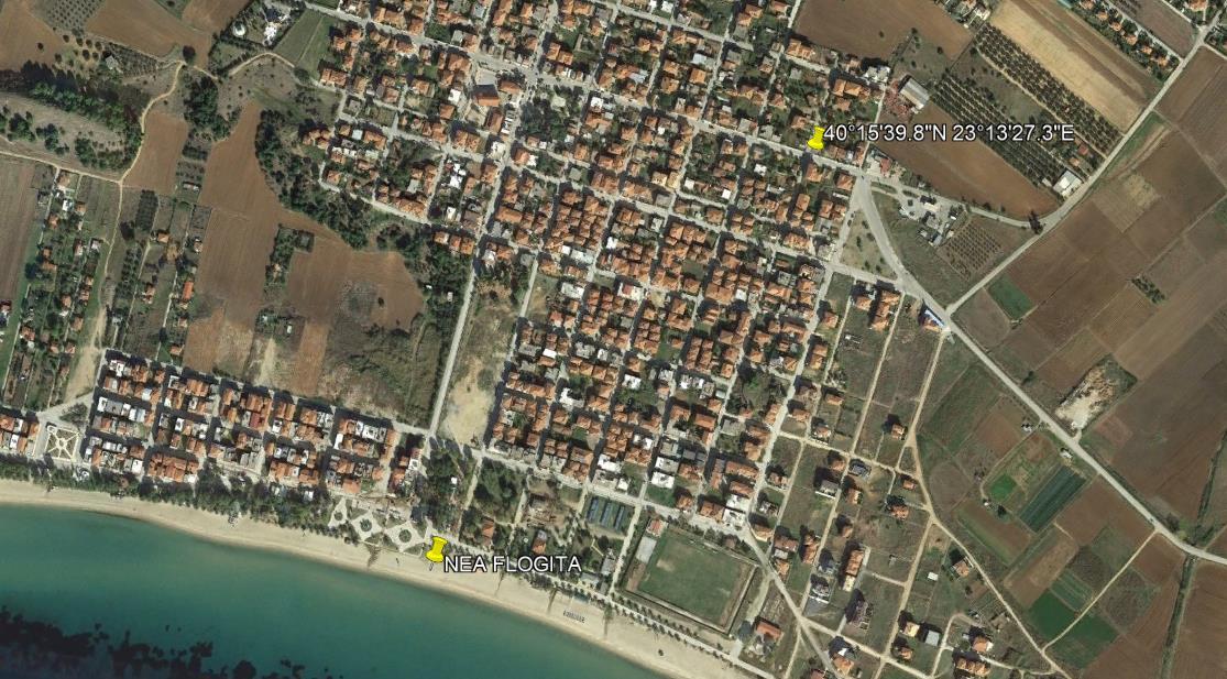 Eli Lux Nea Flogita Kasandra Halkidiki Grcka Letovanje Olimpturs Lokacija